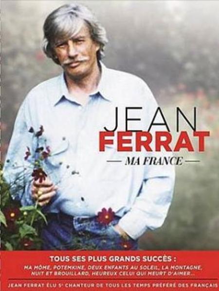 2016) Jean FERRAT - Ma France  - DVD sur ses plus grands succès à la télévision