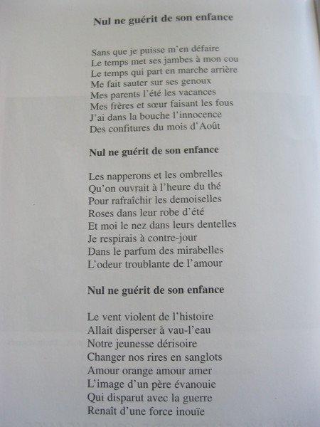 2006) Hommage à Jean FERRAT de  Michel VAN HAMME ( Photos + Extraits de chansons)