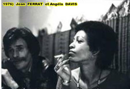 1976)  Jean FERRAT et Angéla DAVIS