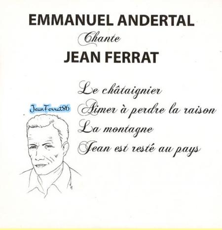 2012) Emmanuel ANDERTAL chante FERRAT