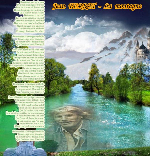 1964) Jean FERRAT - La montagne