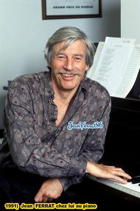 1991)  Jean FERRAT chez lui au piano