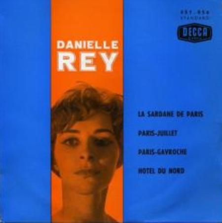 Danielle REY chante FERRAT - Paris Gavroche