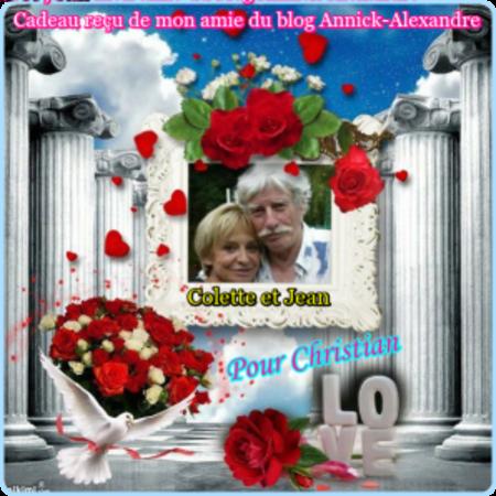 Cadeaux de mes ami(es)Annick-Alexandre -  Ami-Thierry2810 - Lusafranca - Lilidu51085 - Brigitte1941 - L.A.I.K.A -