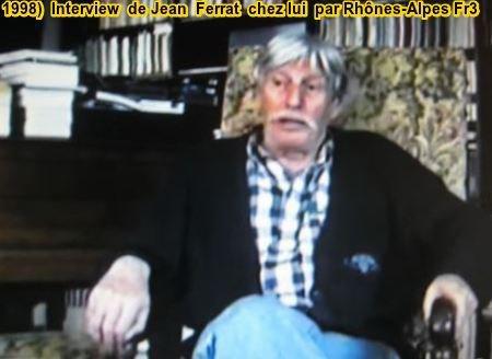 1998)  Interview de Jean FERRAT chez lui par FR3 Rhônes-Alpes