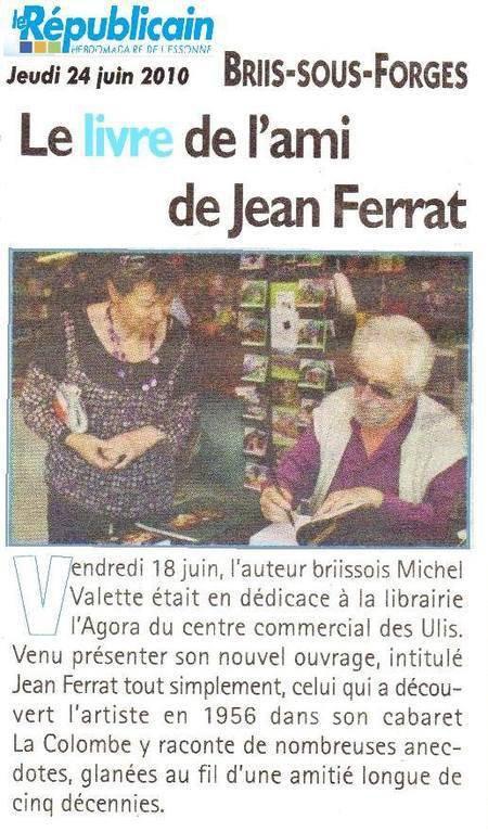 2010)  Le livre de l'ami de Jean FERRAT