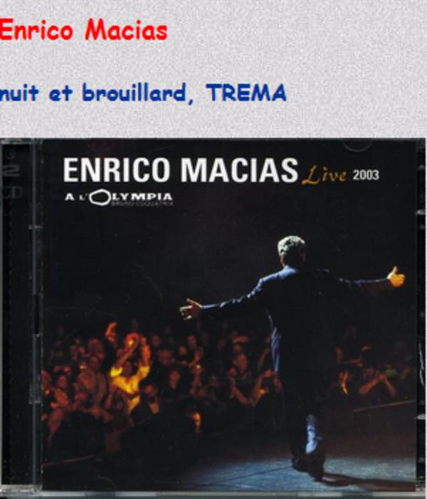2003)  Enrico MACIAS chante FERRAT - Nuit et Brouillard