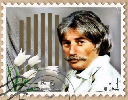 Jean FERRAT sur timbre poste (pour les philatélistes)