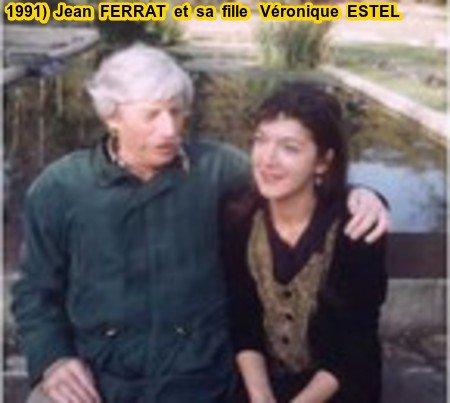 1991)  JEAN FERRAT ET SA FILLE VERONIQUE ESTEL