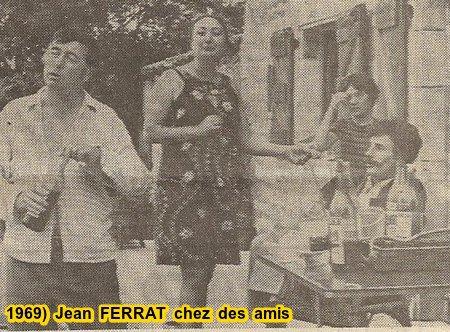 1969)  Jean  FERRAT chez des amis
