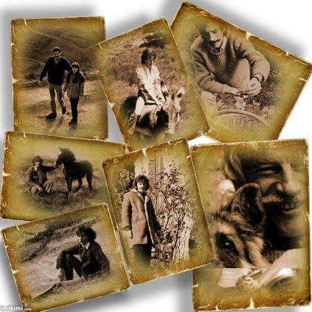 Montage photos de Jean FERRAT ( Trouver sur le net)