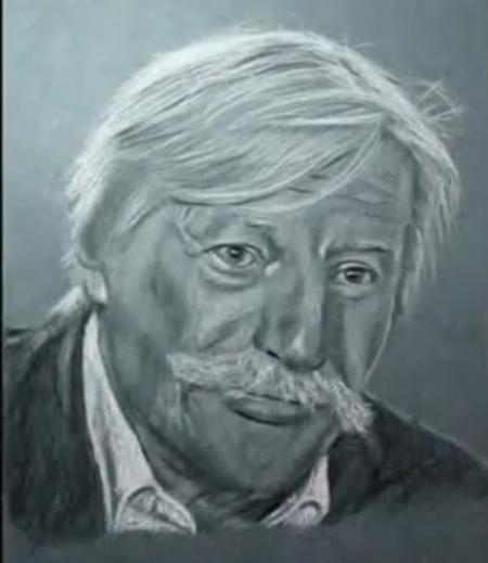 Caricature de Jean FERRAT (Trouver sur le net) MERCI à leurs créateurs ou créatrices