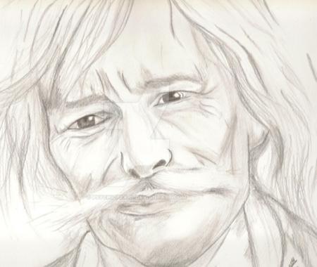 Caricatures de Jean FERRAT (trouver sur le net) et offertes par mon ami Asagrim-Symphonie