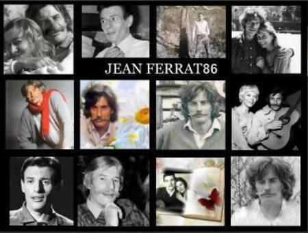 Montage Photos Jean FERRAT (Perso et Trouver sur le net)