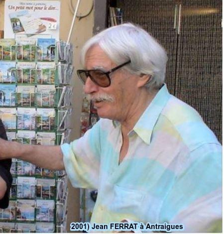 2001) Jean FERRAT à Antraigues