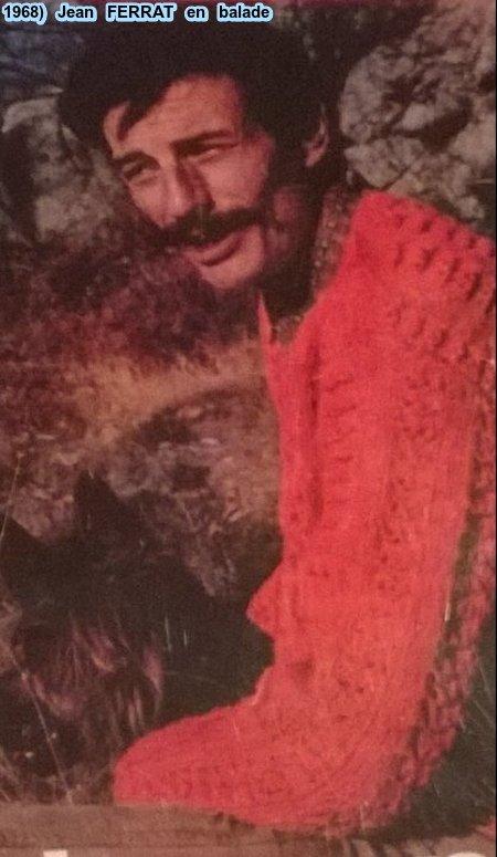 1968) Jean FERRAT en balade dans la montagne