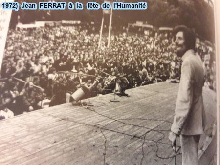 1972) Jean FERRAT à la Fête de L'Humanité
