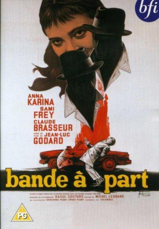 """1964)  Bande à part film de Jean-Luc GODART _ Musique de Jean FERRAT """" J'entends J'entends """""""