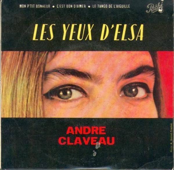 André CLAVEAU chante FERRAT - Les yeux d'Elsa