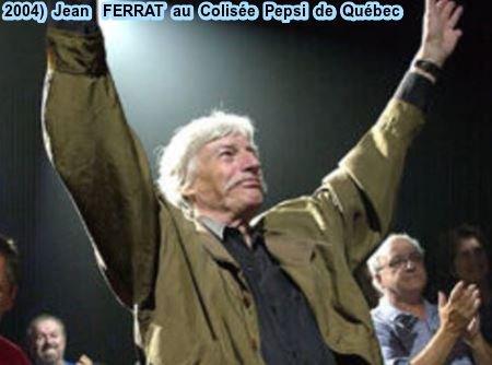 2004) Jean FERRAT au Colisée Pepsi de Québec