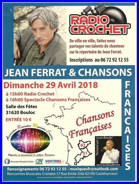 2018) Radio Crochet Jean FERRAT à  31620 BOULOC