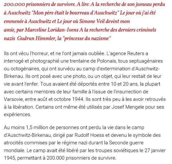 1963) Jean FERRAT - Nuit et Brouillard  + Vidéo témoignages de 3 déportés + Article de presse