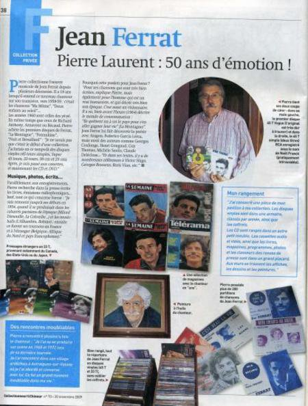 2010)  Jean FERRAT _  Pierre LAURENT : 50 ans d'émotions !