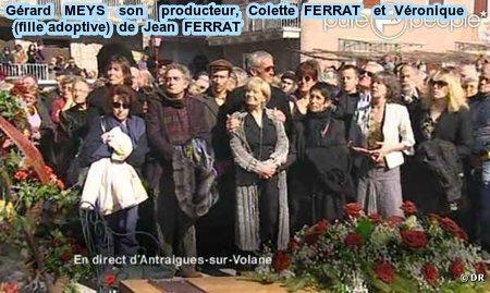 2010)  OBSEQUES  DE  JEAN  FERRAT