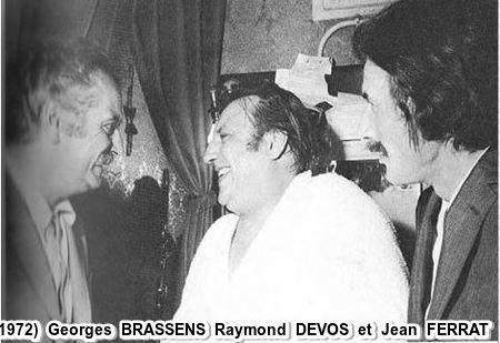 1972) Georges BRASSENS Raymond DEVOS et Jean FERRAT
