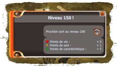 Niveau 150