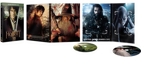 • Le Hobbit : Un voyage inattendu sortira le 17 Avril 2013 en DVD et Blu-Ray.   Diverses versions et jaquettes seront proposées à sa sortie.