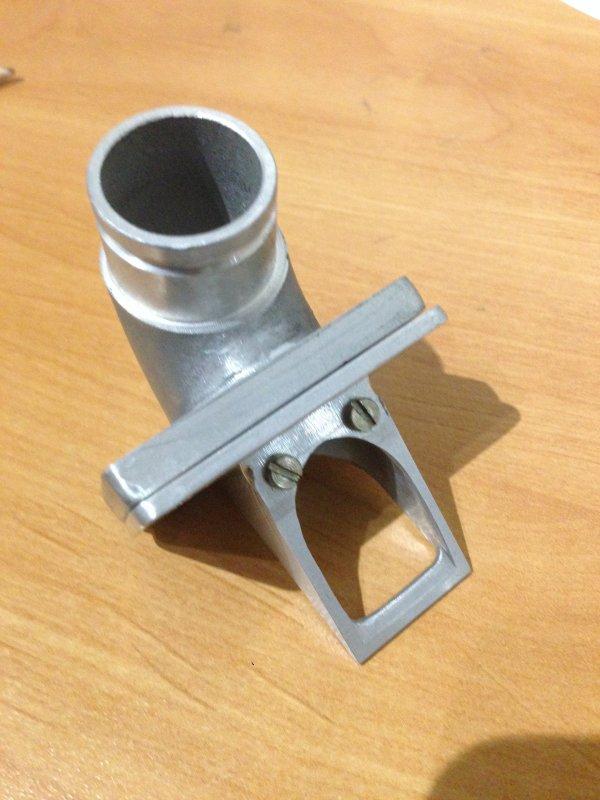 Clapet taillé masse sur pipe G2b sacrifiée (1er essai)