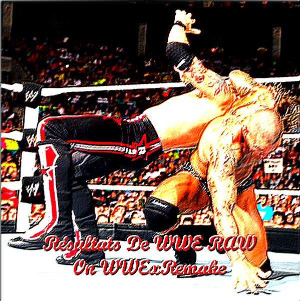 Résultats De WWE RAW !