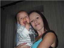 mon bébé et sa maman