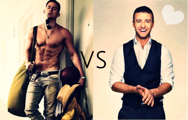 Channing Tatum vs Justin Timberlake.