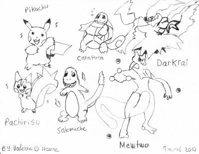 Comment Dessiner Pokemon Facilement Stunning Comment Dessiner Le