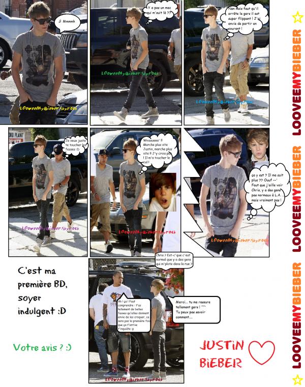 Justin Bieber & Chris Br0own in L.A. ♥