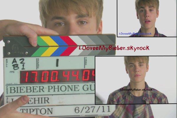 Justin Bieber fait encore de la pub