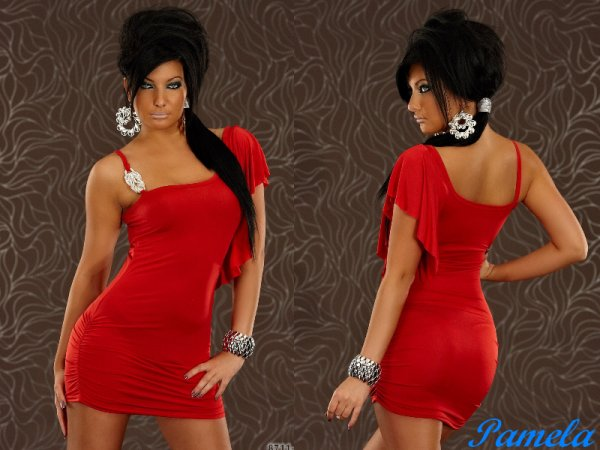 Robe PAMELA rouge 39¤