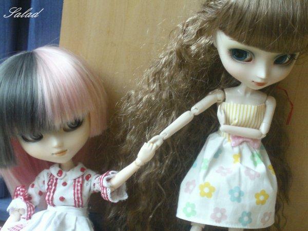 ~Présentation de mes dolls~