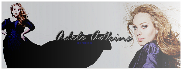 Bienvenue sur AdkinsLaurieBlue-Adele, ta source d'actualité sur la belle Adele !   Suis pas à pas les photoshoots, les tweets, les apparitions publics ou encore les interviews de la belle Adele Adkins !