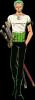 Présentation personnage n°2 : Zorro