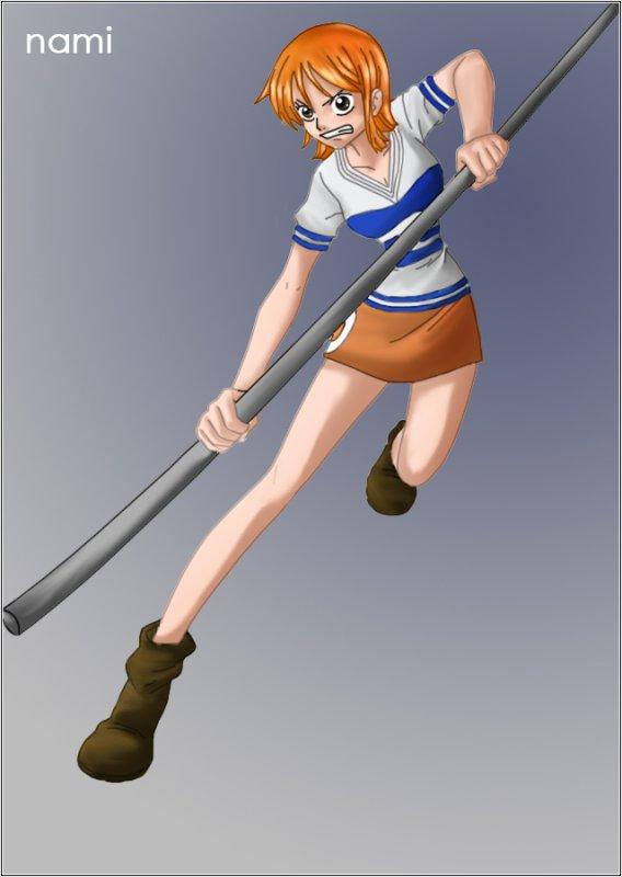 Présentation personnage n°3 : Nami