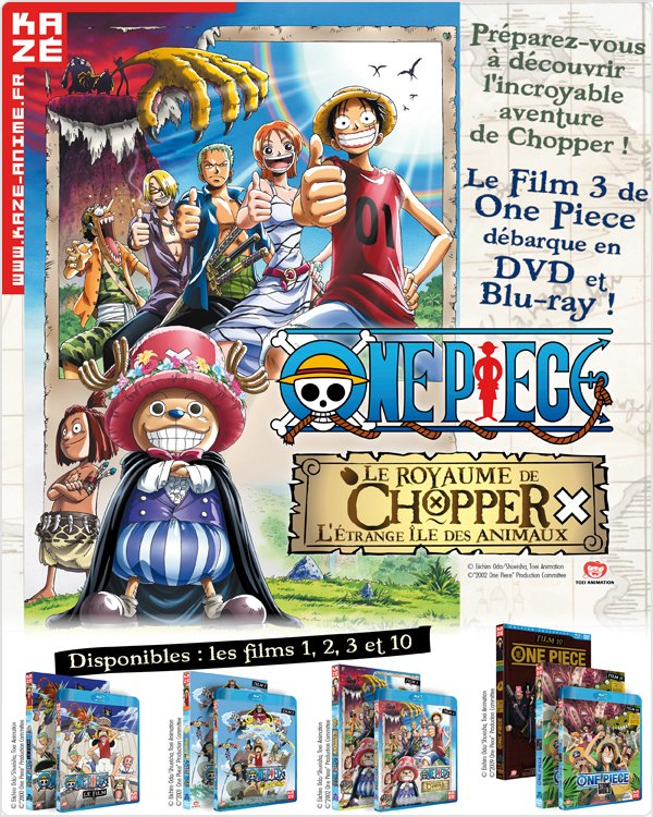 One piece film n°3 en DVD