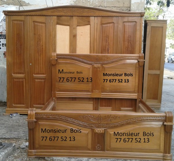 Awesome chambre coucher djibouti with chambre a coucher en for Ensemble de chambre a coucher en bois