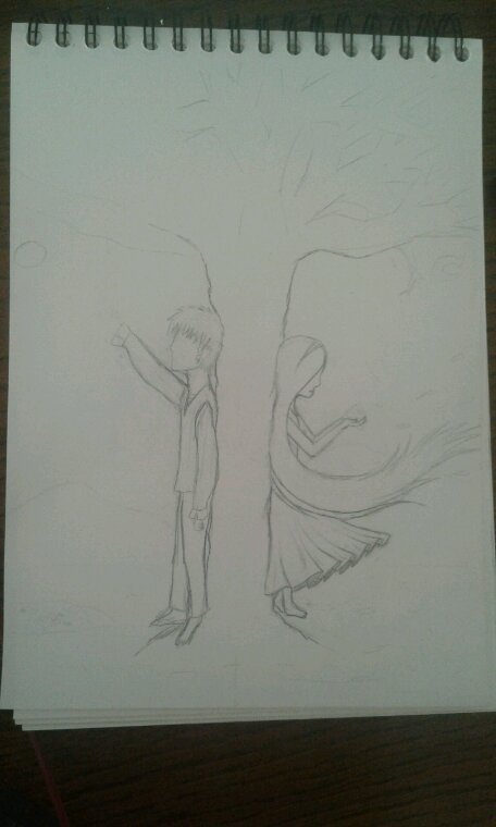 Petit dessin pas fini ^^