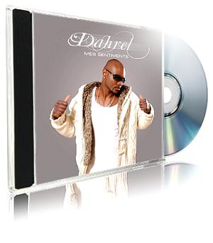 """ALBUM DE DAHREL """"MES SENTIMENTS"""" EN VENTE  SUR LE NET"""