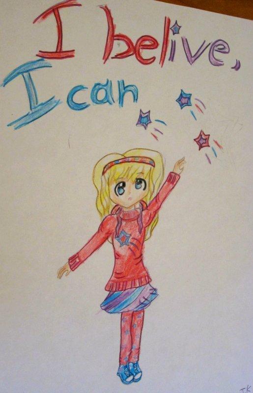 Dessin n°6  ✮≈ I believe, I can bis≈✮