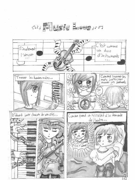 Concours n°2 et planche n°1 ✮≈ Music Love ≈✮