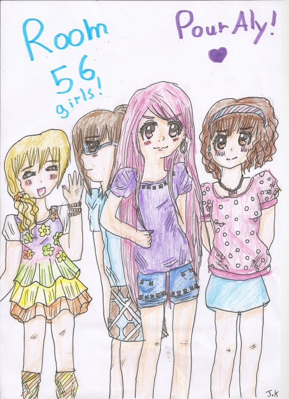 Fan'art n°1 ✮≈ Room 56 girls for Aly! ≈✮